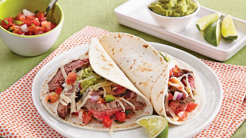 Grilled Beef Fajitas with Pico de Gallo