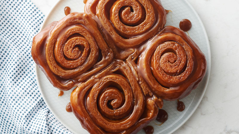 Classic Sticky Rolls (Cooking for 2)