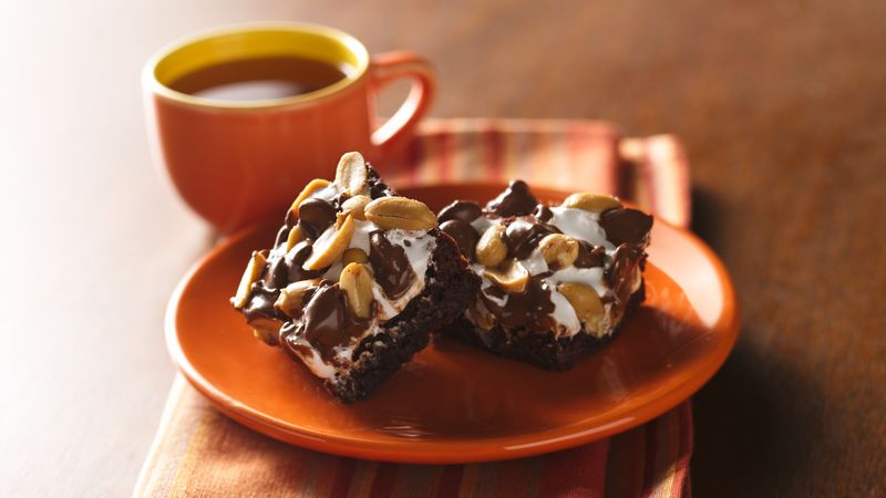 Tin Roof Sundae Brownies