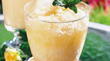 Melon-Mint Julep Slush