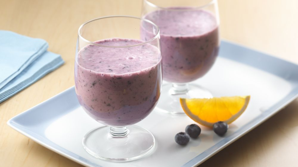 Blueberry Orange Smoothies