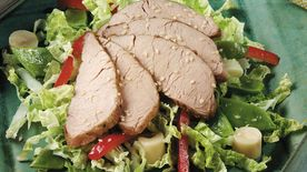 Asian Pork and Vegetable Salad