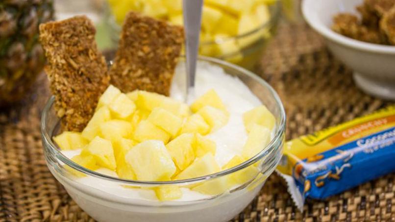 Desayuno de Piña Colada