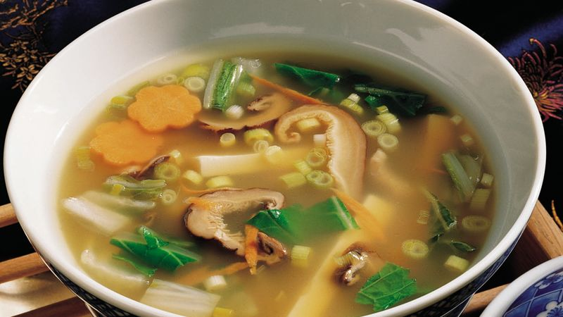 Tofu Hot-and-Sour Soup