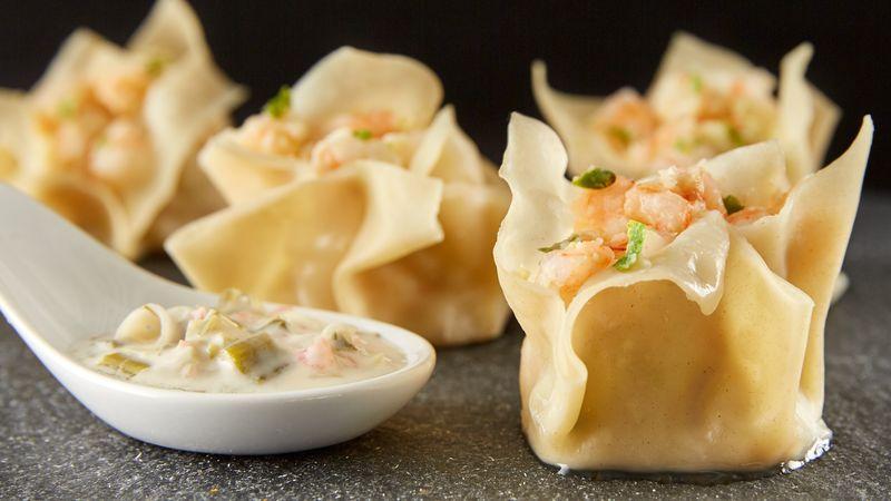 Thai Shrimp Wontons