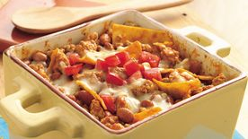 Mexican Pork and Beans Casserole
