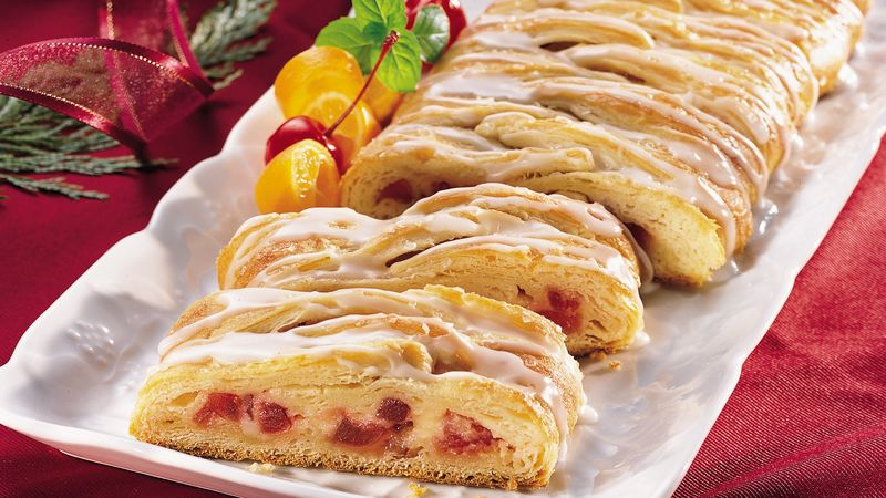 Cherry-Cheese Crescent Braid (club store pack)