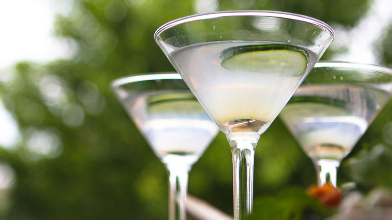 Cucumber Lime Martini
