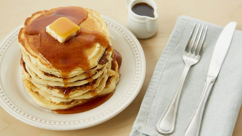 Buttermilk Pancakes Recipe Bettycrocker Com