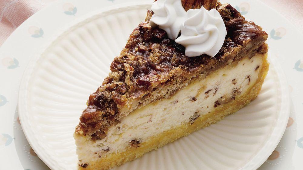 Praline Pecan Cheesecake