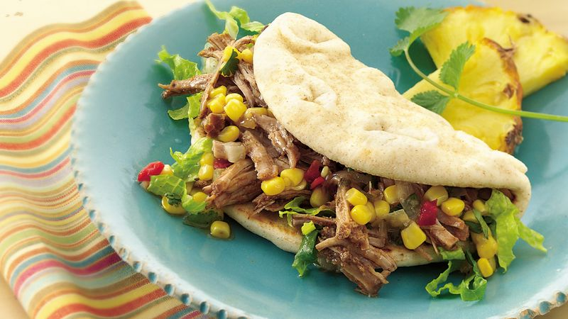 Slow-Cooker Jerk Pork Sandwiches