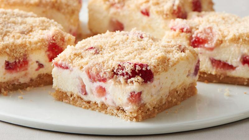 Strawberry Shortcake Cookie Bars