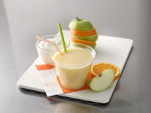 The Food Court Blenderless Smoothie (Apple Orange)