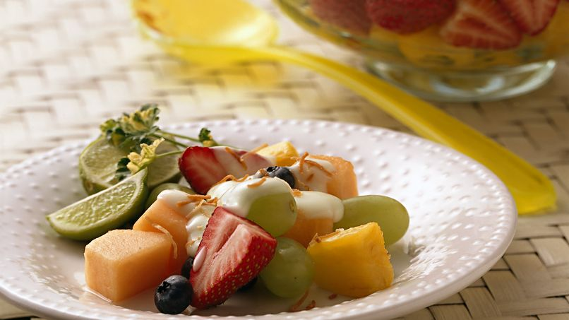 Key Lime Fruit Salad