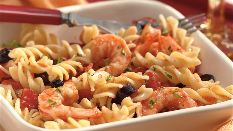 Fennel Shrimp and Fusilli