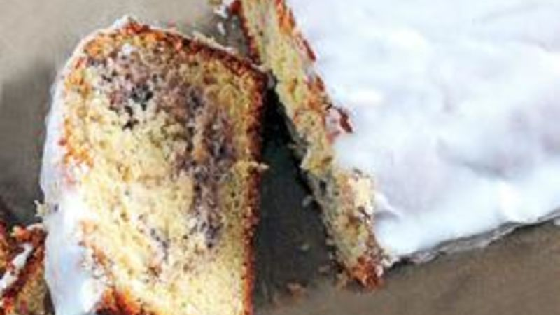 Lemon-Blueberry Yogurt Loaf Cake