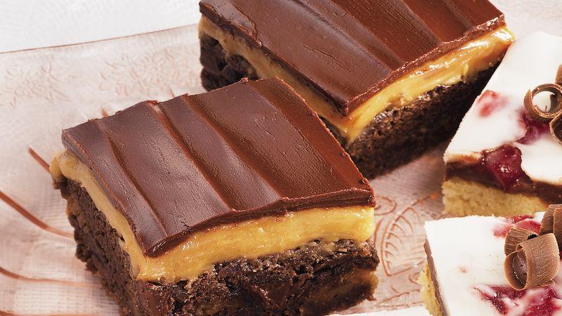 Peanut Butter-Honey Brownies