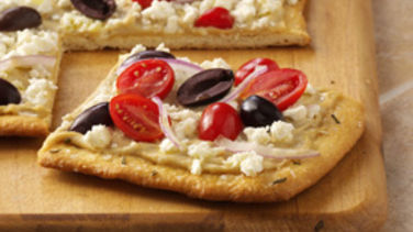 Greek Salad Pizza