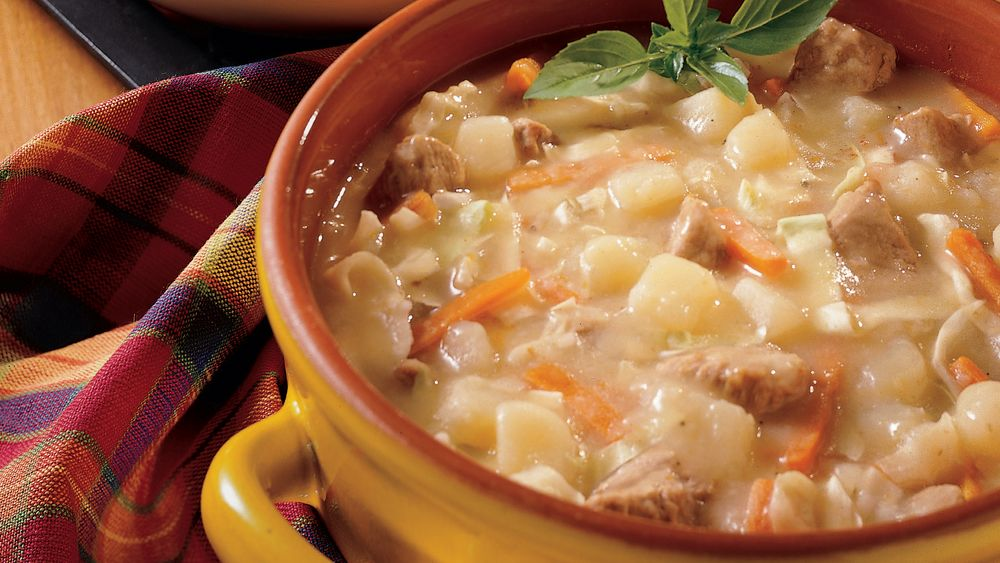 Family-style Pork And Potato Stew