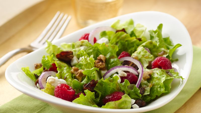 Spring Raspberry Salad Recipe Bettycrocker Com