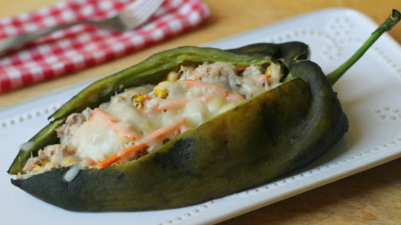 Tuna Stuffed Peppers