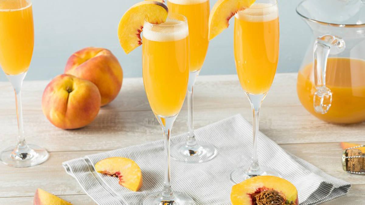 Peachy Mimosas
