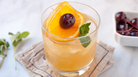 Mint Whiskey Sour