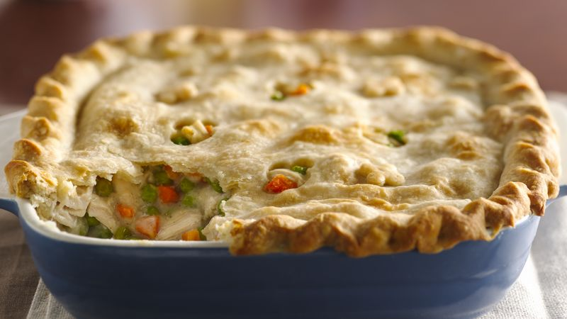Classic Chicken Pot Pie Recipe Bettycrocker Com