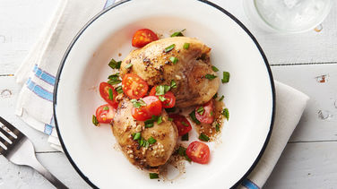 5-Ingredient Slow-Cooker Balsamic Chicken