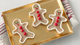 Gingerbread Man Jello Shots
