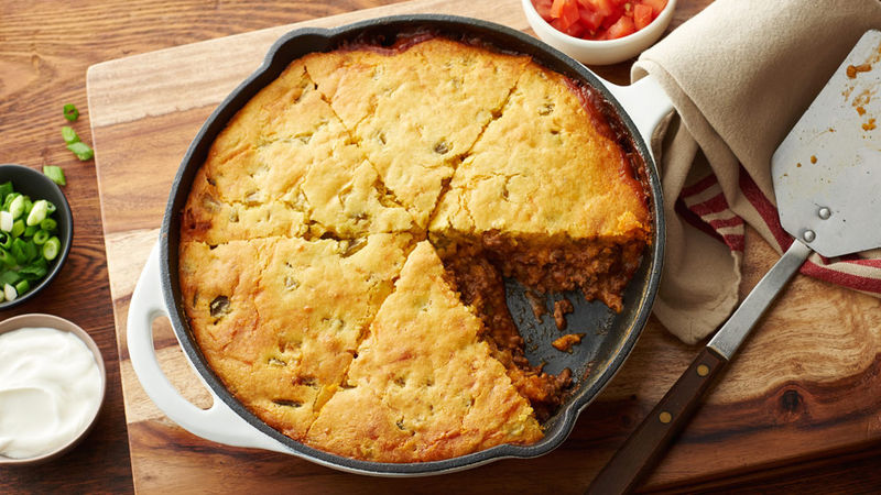Easy Tamale Pie Recipe Pillsbury Com