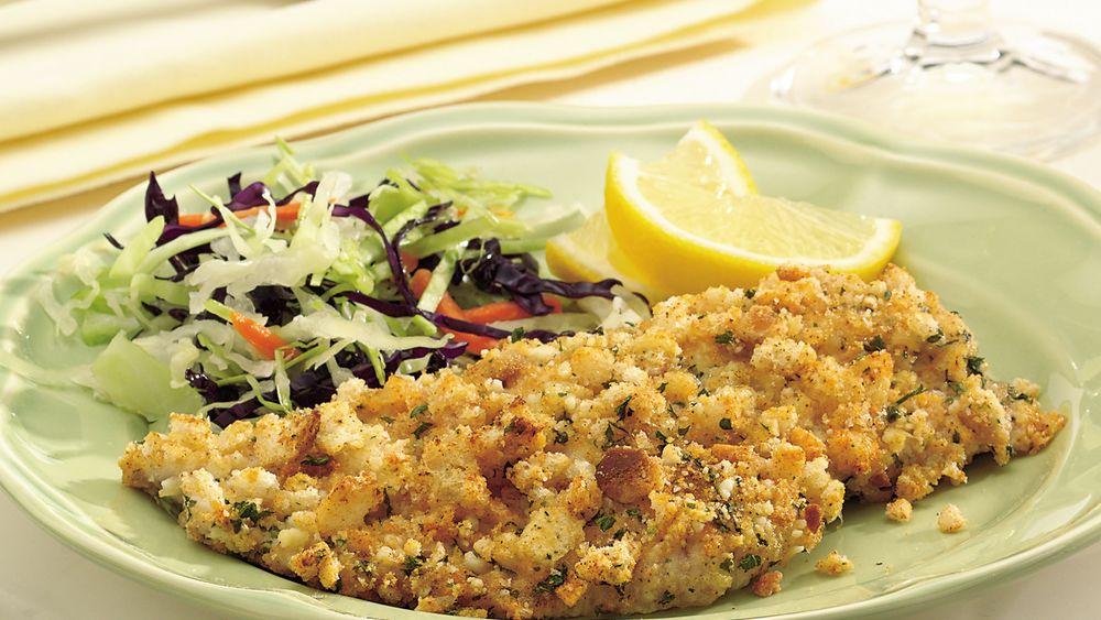 Easy Breaded Fish Fillets