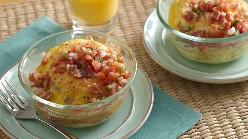Breakfast Biscuit Cups for Two