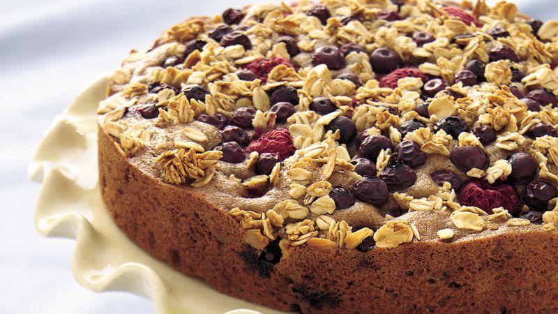 Whole Wheat Berry Coffee Cake Recipe Bettycrocker Com
