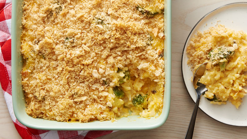Cheesy Broccoli Rice Bake