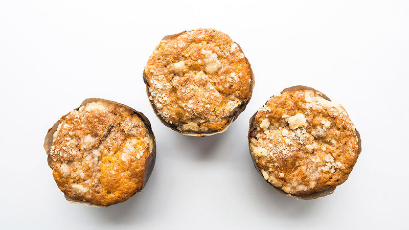 Copycat Costco™ Apple Crumb Muffins