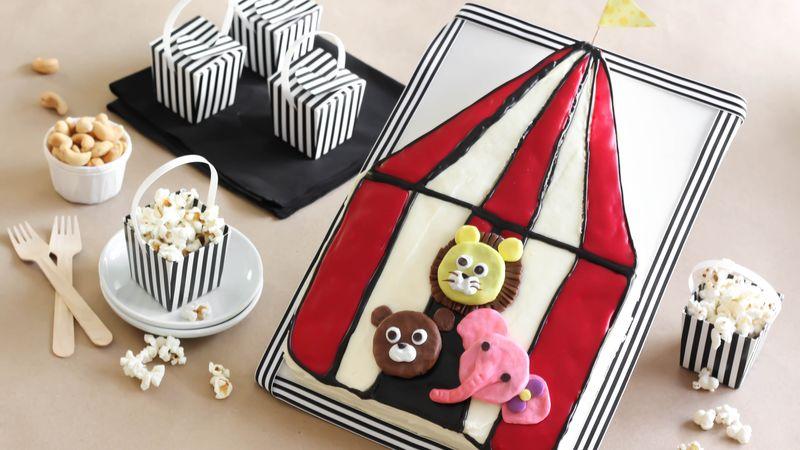 Circus Birthday Cake
