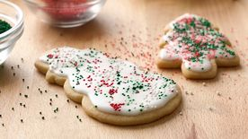 Basic Iced Holiday Sugar Cookies