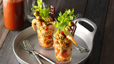 Bloody Mary Shrimp and Pasta Salad