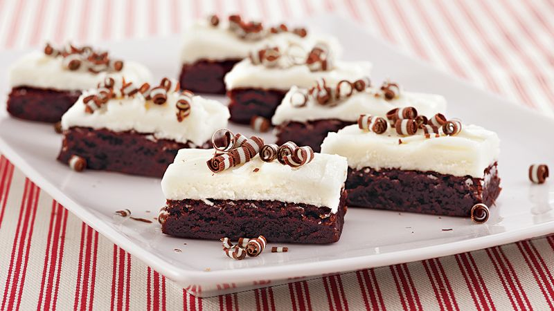 Double Mint Brownies Recipe BettyCrockercom