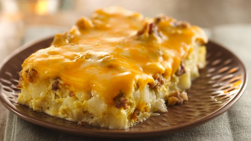 Overnight Tex-Mex  Egg Bake