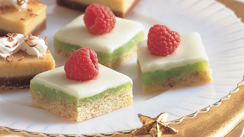 White Chocolate Lime Bars