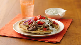 Slow-Cooker Shredded Turkey Gyros