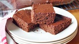 Double Fudge Whole Grain Brownies