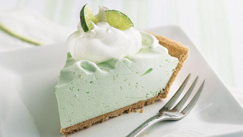 No-Bake Lime Chiffon Pie