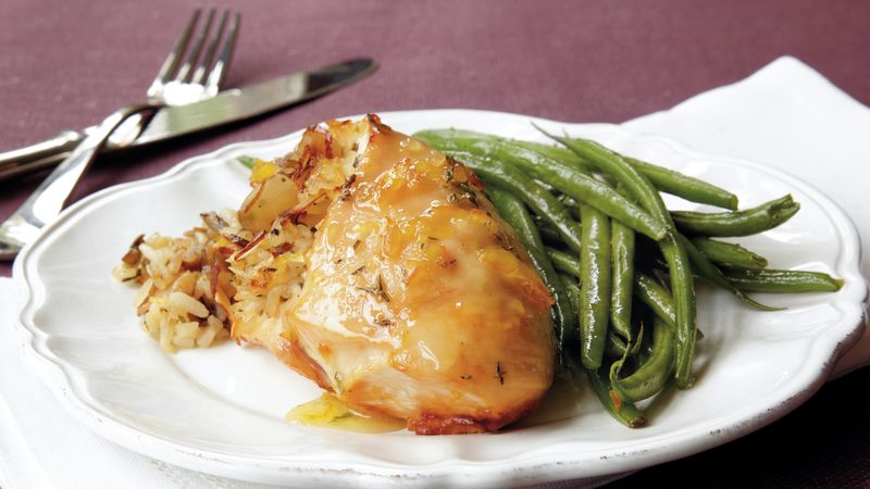 Sweet Orange Baked Chicken