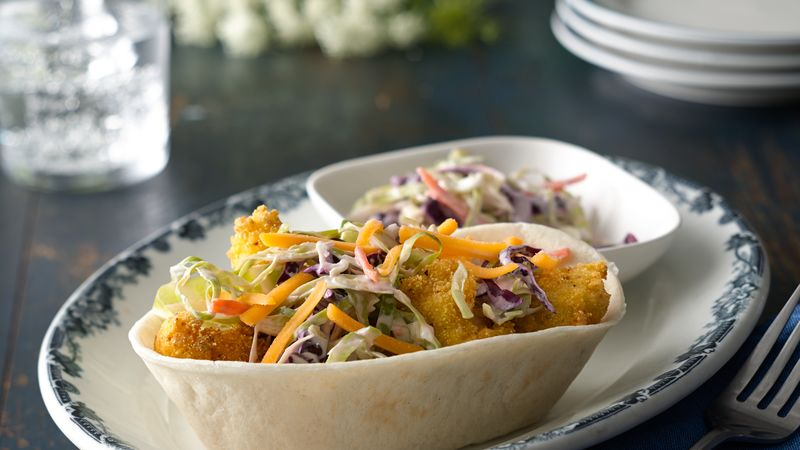 Southern Fried Chicken Taco Bowls