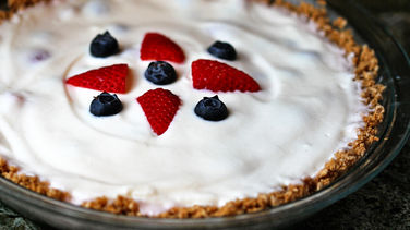 Very Berry Yogurt Pie with Cheerios® Crust