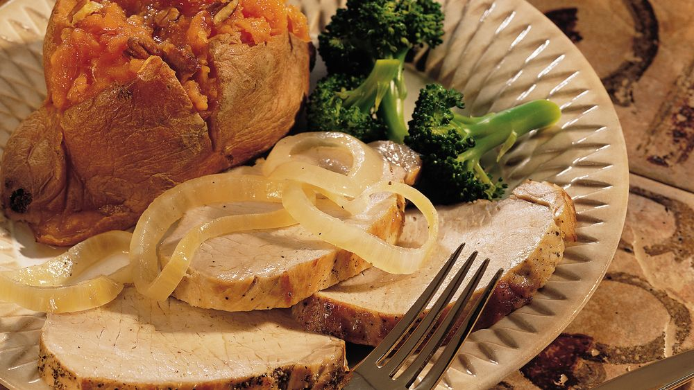 Garlic Pork Roast