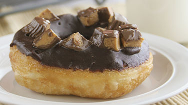 Candy Bar Doughnuts